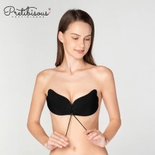 OEM for Low Back Strapless Bra Sexy girls seamless silicone sticky strapless bra export to France Manufacturer
