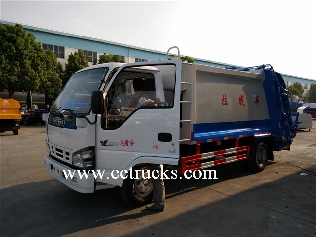 12 Ton Waste Compression Trucks
