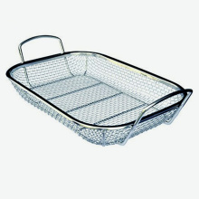 Personlized Products for Stainless Steel Basket,Heavy Stainless Steel Stone Basket,Stainless Steel Wire Mesh Basket Manufacturers and Suppliers in China Stainless Steel Kitchen Cooking Basket supply to Italy Manufacturers