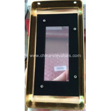 HPI Golden Faceplate for OTIS 2000 Elevators