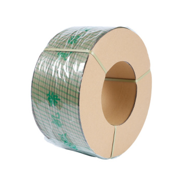 Green color PP packaging plastic strap factory