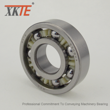TW Polyamide 6.6 Cage Ball Bearing For Idler Roller