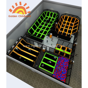 Max Indoor Multi-functional Trampoline Park