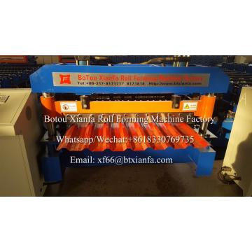 Ibr Color Steel Metal Roof Roll Forming Machine