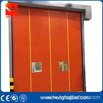 20 Years manufacturer for Self Recovery PVC Rapid Door forklift impact back track pvc door export to Colombia Importers