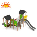 Outdoor Playground Junior Multiplay Green Tower For Kids