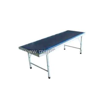 Steel spray examination bed