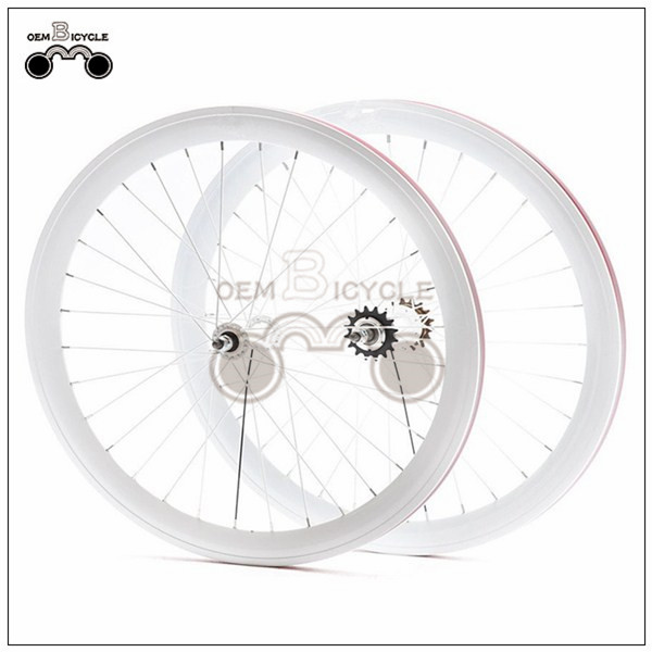 650C 45mm fix double-walled aluminum wheelset4