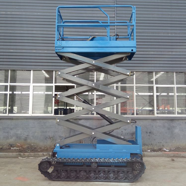 Tracked Self Propelled Scissor Lift Crawler Scissor Lift With Factory Price