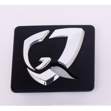Two Colors Plastic Logo for Auto