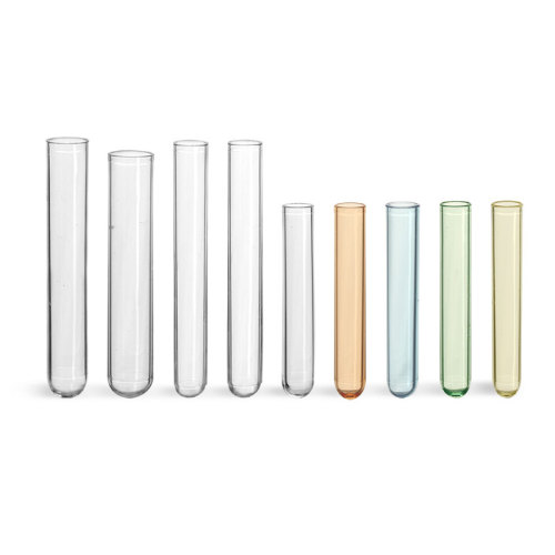PS plastic test tube disposable tube