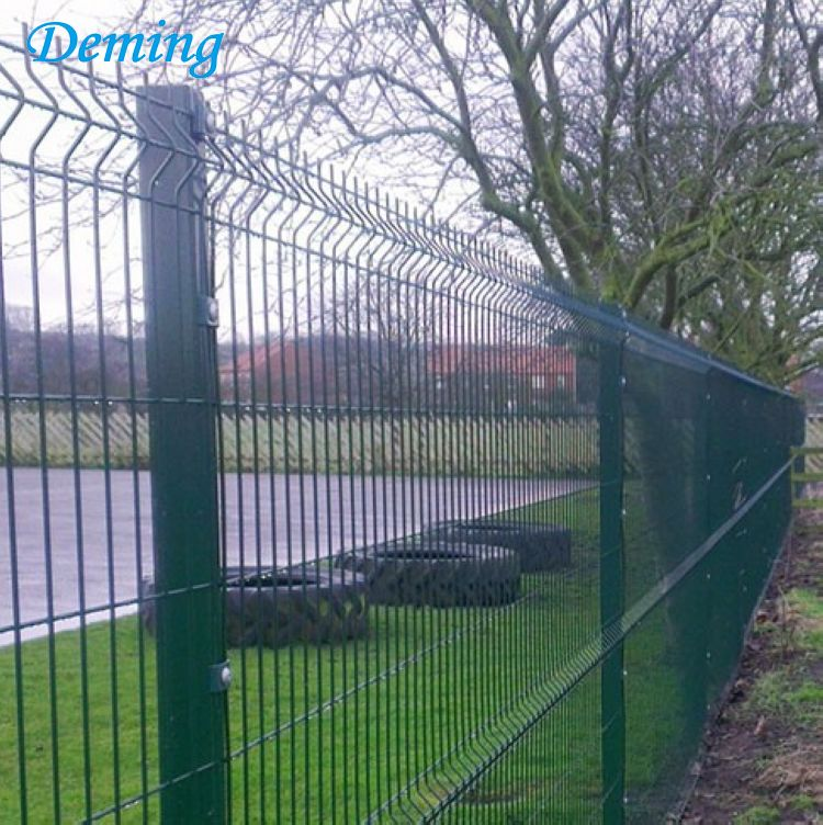 3 Curve PVC Coated Welded Wire Mesh Fence