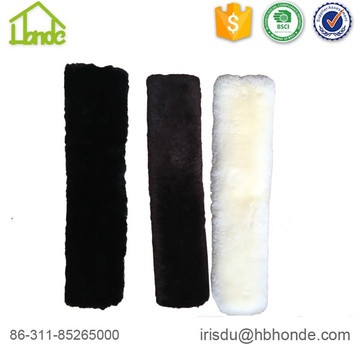 Soft Genuine Sheepskin Girth Cover