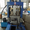 Hydraulic automatic CZ purlin touch screen forming machine
