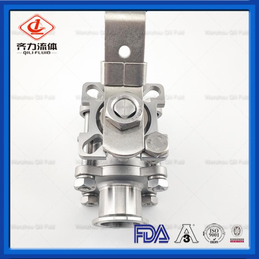 Manual Stainless Steel Sanitary Ball Valves