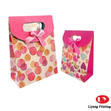 Custom Design Printed Shopping Paper Bag