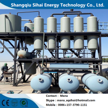 Short Lead Time for Waste Motor Oil Distillation Plant Large capacity vacuum distillation facility export to Zimbabwe Wholesale
