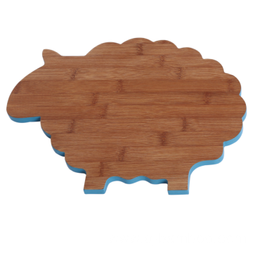 Sheep bamboo cutting board
