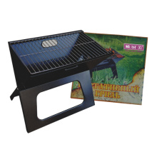 Folded homemade stainless steel charcoal bbq grills