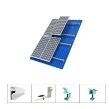 Factory Price for Solar Adjustable Roof Mounting System Solar Mounting Brackets For Metal Roof export to Djibouti Manufacturer