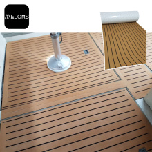China for Faux Teak Sheet Cheap Decking Hot Tub Non-slip Synthetic Floor Mats export to Poland Factory