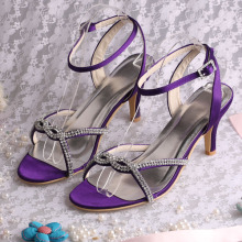 Purple Party Footwear for Ladies
