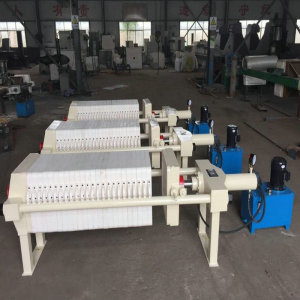 Stainless Steel Hydraulic Filtering Press Machine