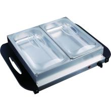 China for Buffet Server 2 Pan Buffet Server and Warming Tray supply to United States Exporter