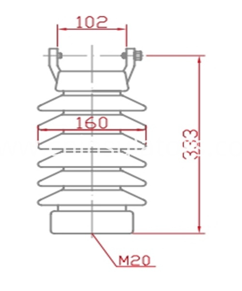pin post insulator