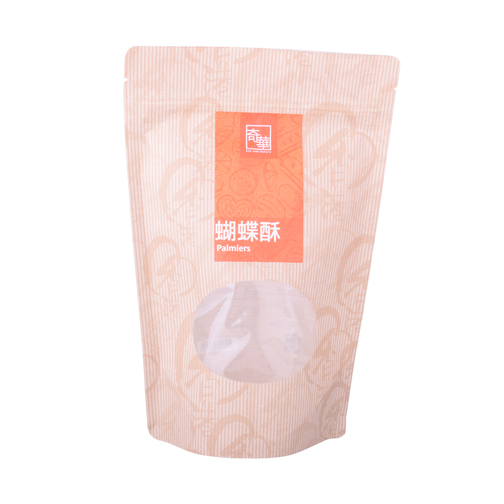 Compostable Eco-friendly Seaweed Packaging Bags with Window
