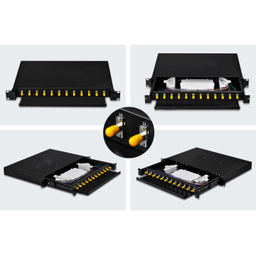 Rack Mount Drawer Patch Panel 12core