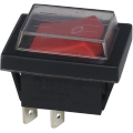 Power Rocker Switches with Waterproofcover