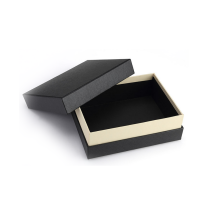 Professional for Custom Pendant Box Custom Matt Black Paper Jewelry Package Box export to Portugal Supplier