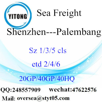 Shenzhen Port Sea Freight Shipping To Palembang