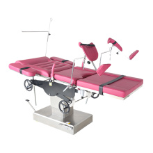 Manual obstetric gynecology chair for hospital