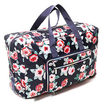 Portable Print Travel Hand Bag Trolley Suitcase