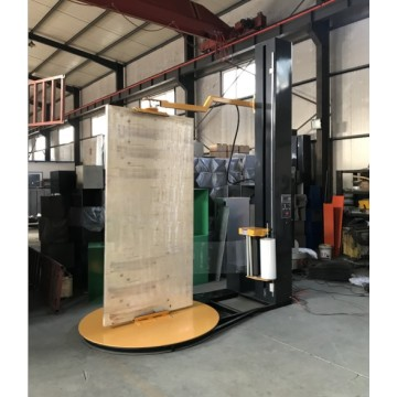 Automatic windows stertch pallet wrapper