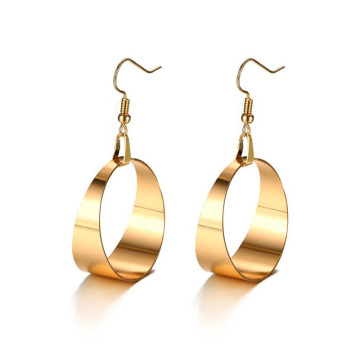 Good User Reputation for for Gold Hoop Earrings Stainless steel large rose gold hoop earrings supply to United States Suppliers