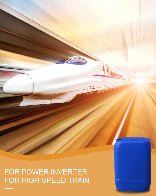 Refrigerant for Inverter of train