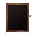 "Rustic Wall 18""x22"" Framed Decorative wood chalkboard labels"