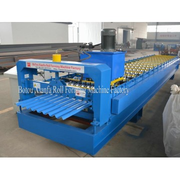 Trapezoidal Moulding Metal Roof Roll Forming Machine