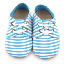 New Arrival Blue Baby Leather Oxford Shoes