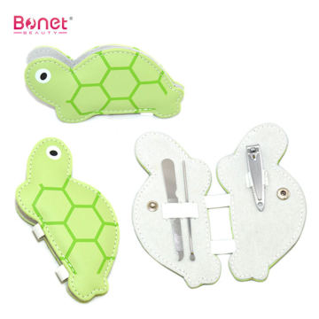 Cute Animal Tortoise Shape Manicure Set
