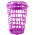 Plastic laundry-shopping-fruit-handle basket mould