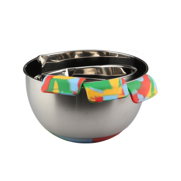 Stainless Steel Nesting Camo Painting Mixing Bowls