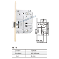 PE70 Spain series hole bathroom lock silent latch