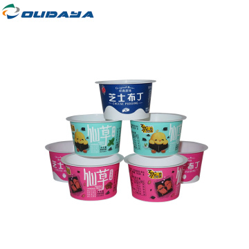 mini yoghurt cup for pudding