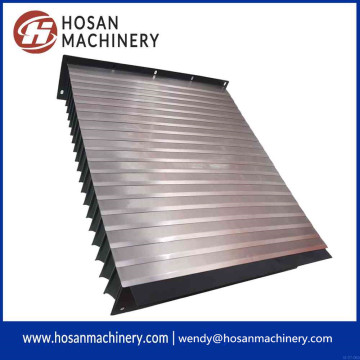 ODM for Flexible Accordion Type Guide Shield Steel telescopic guide accordion shield bellow cover supply to United States Minor Outlying Islands Exporter