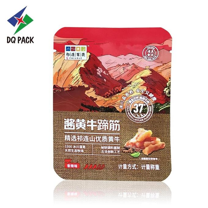 Beef Snack Food Packaging Bag