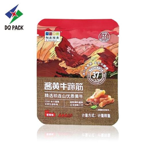 Beef Snack Food Printing Packaging Bag
